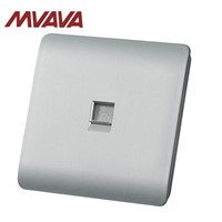MVAVA Factory Sale Telephone Sockets; Universal Home Usage Phone Outlet Luxury Polished PC P