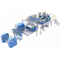 PP/PS/PE Mono or Multi Layer Sheet Line