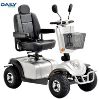 Portable 4 Wheel Folding Electric Mobility Scooter