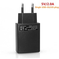 Wall Charger Single USB 5V 2A Universal USB AC Travel Wall Charger