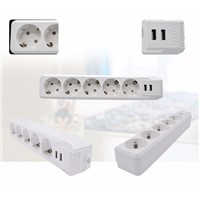 5 Pins Surge Protector Power Strip