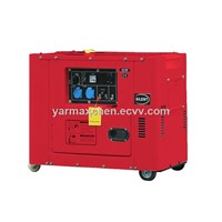 Strong Power Sound Attenuated 7kva Diesel Generator