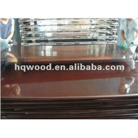 Film Faced Plywood Paper 18mm Formwork Plywood For Construction Decoration
