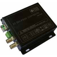 3G/HD-SDI to Fiber Optic Converter with RS485 Data LC/ST Connector