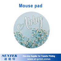 Round Shape Mouse Pad with Sublimation Printing Sublimation Blank
