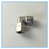 Stainless Steel Elbow Female Pneumatic Fittings