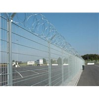 Airport Guardrail Triangle Bend Fence Barbed Rope Fence