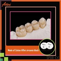 Medical Supply Several Layers CAD CAM Systems Dental Zirconia Blocks for Dentures Material
