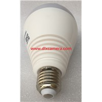 2Mp 1920x1080P 360degree 3D Panoramic P2P Wireless IP Light Bulb Camera Plug & Play Support Remote Control Light Bulb