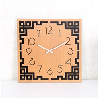 Creative Chinese Style Fashion Living Room Wooden Wall Clock