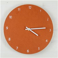Creative Nordic Fashion Living Room Wooden Wall Clock