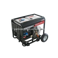 Overload Protection Diesel Generator, Open Type with Wheels