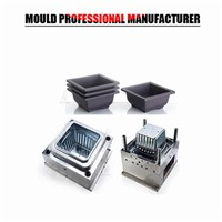 2017 New Products Customer Design Plastic Injection Molding Flower Pot Mould Manufacturing In Taizhou