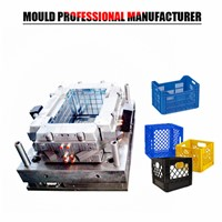 Hot Products Plastic Injection Mould Turnover Box Moulding Injection Plastic Crate Mould Taizhou Supplier