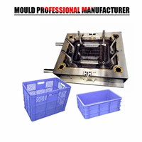 Plastic Injection Mold Making Plastic Crate Mould