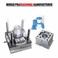 Plastic Mold Design Service Injection Molding Food Storage Container Mold Maker from Taizhou Supplier