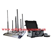 High Power Drone Jammer GPS WiFi