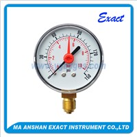 Alarm Pointer Dry Pressure Gauge