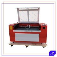 Low Cost Co2 Laser Engraving Cutting Machine for Stainless Steel Acrylic Leather with Double Head
