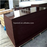 Linyi 18mm Film Faced Plywood Poplar Core WBP Glue Two Times for Construction