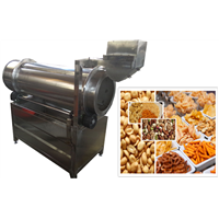 Continuous Snacks Seasoning Machine