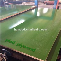 Green Standard Specifications High Quality Plastic Film Faced Shuttering Plywood