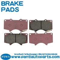 Performance Red Brake Pads For Toyota 04465-35290