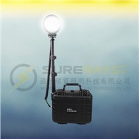 Remote Area Lights 27W with Lifting Lamp