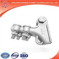 Wanxie NLL-1S Gun Type Clamp Aluminum Alloy Cable Clips U Bolts Strain Clamp