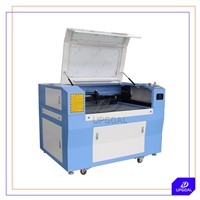 Leather Co2 Laser Engraving Machine with 90W Laser Tube