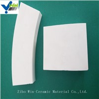 High Temperature Resistance White Alumina Ceramic Tiles Chinese Factory
