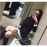 Women Casual Knitted Dress Supplier
