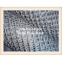 Galvanized Diamond/PVC Coated Chain Link Fence/Chain Wire Fencing