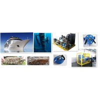 Ship/Boat Hull Cleaning Equipment Underwater (Cavitation Technology) Small Cavitation Cleaning Unit Medium