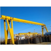 High Quality MH Single Girder Gantry Crane Price 10 Ton 20 Ton