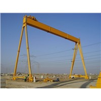 Factory Supply Single Girder Gantry Crane with CD Hoist Used In Warehouse Or Outdoor