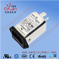 Manufacturer Ac Power Socket with Fuse Single Phase Noise EMI Filter