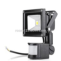 Waterproof LED Flood Light, 10W Daylight Flood Light Outdoor White Motion Sensor for Landscape, Senic Spot, Hotel