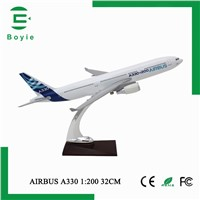 Resin Crafts 330 Airbus Model Aircraft Scale 1/200 for Business Present