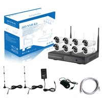 DIGICAM CCTV 8CH Wireless NVR KIT 1.0MP 1.3MP 2.0MP WiFi IP Camera Kit