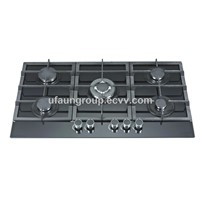 90CM Built in Gas Hob 5 Burner Stainless Steel Gas Hob