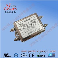 China Manufacturer Single Phase Double Stage Noise Low Pass EMI Power Filter