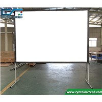 Cynthia Screen Front & Rear Projection Large Portable Outdoor Fast Folding Frame Projector Screen