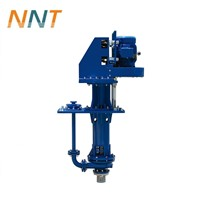 Open Pit Mining Pump Equipment Half Submersible Vertical Sump Sand Pump