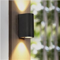 Outdoor Wall Light, IP65 Waterproof Outdoor Lighting, 8W Balcony Lamp AC 85-265V