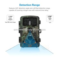 1080P HD 120 Degrees Detection Angle Outdoor Digital Hunting Trail Camera Wildlife Cameras