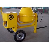 300L Mini Drum Portable Cement Mixer with Gasoline Engine