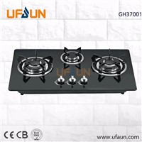 3 Burner Glass Top Gas Cooker/Gas Hob