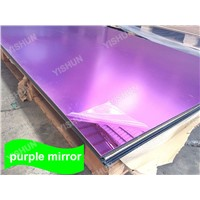 High Reflective 0.8-6mm Customized Color Plastic Mirror Acrylic Sheet