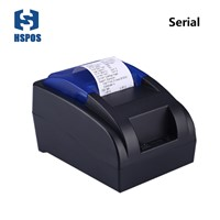 Small 58mm Thermal Printer with Serial Interface Low Noise Low Cost Support Linux for Pos System Receipt Printer